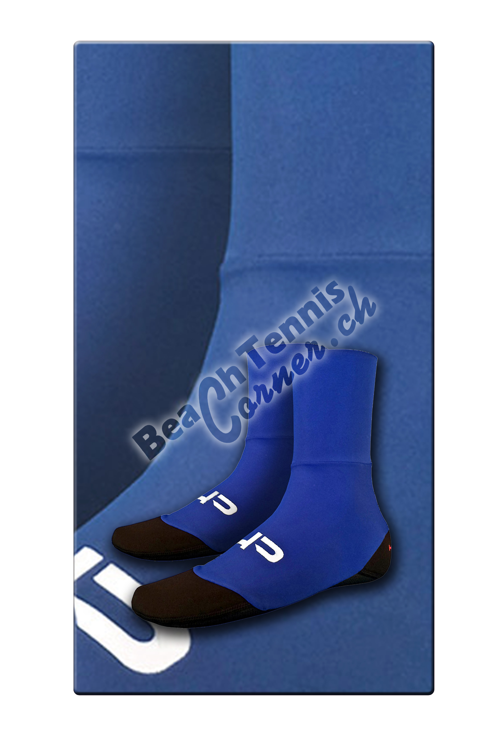 HP – Beach Socks slim blue